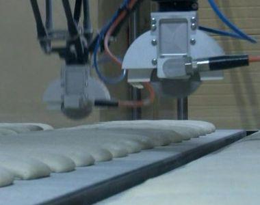 VIDEO | Roboții care frământă pâine artizanală au luat locul brutarilor
