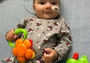 Povestea emoționantă a unui bebeluș: copilul de 9 luni își petrece Crăciunul în spital în așteptarea unui transplant de inimă