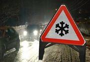 VIDEO | Zăpada și viscolul au făcut ravagii pe șosele. Ce se întâmplă cu vremea în zilele următoare și de Crăciun