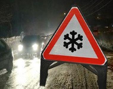 VIDEO | Zăpada și viscolul au făcut ravagii pe șosele. Ce se întâmplă cu vremea în...