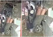 Păţania unei şoferiţe de 19 ani din Iaşi face furori pe internet