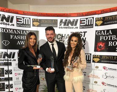 Kanal D, premiat aseară la Gala Romanian Fashion Awards 2019. Ilinca Vandici, Victor...