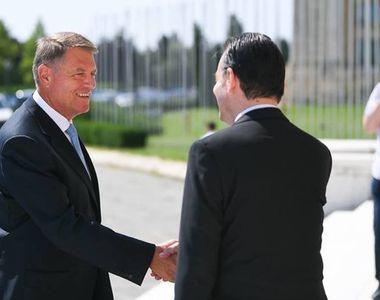 Preşedintele Klaus Iohannis, întâlnire cu premierul, vicepremierul şi miniştrii Muncii,...