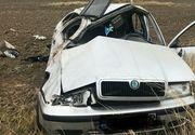 Accident incredibil produs în Suceava! Doi tineri s-au îmbătat şi au schimbat locurile la volan