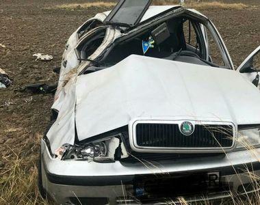 Accident incredibil produs în Suceava! Doi tineri s-au îmbătat şi au schimbat locurile...