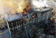 Un mort, 27 de răniţi şi 14 persoane date dispărute într-un incendiu la Odesa