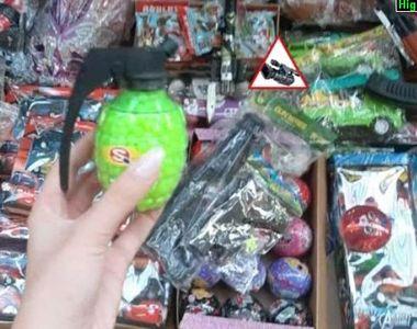 VIDEO | Jucăriile periculoase au invadat piața din România. Ce trebuie să știe părinții