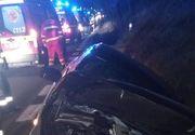 Accident teribil: șoferul unei mașini a adormit la volan. Patru tineri au ajuns de urgență la spital