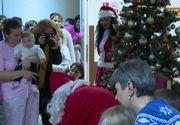 VIDEO | Moș Nicolae le-a adus bucurie copiilor din spital
