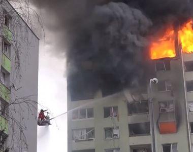 Cel puţin cinci morţi în estul Slovaciei, într-o explozie de gaze naturale într-un bloc...