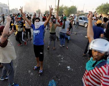 Carnagiu la protestele din Bagdad: cel puţin 19 morți și 70 de răniți în atacul armat...
