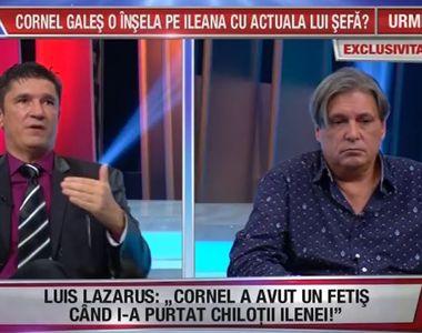 """Cornel Galeș, """"smardoială în direct"""" cu Luiz Lazarus! """"Bă, mă ridic și îl pocnesc! Vrei..."""