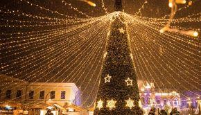 VIDEO | Atmosfera de basm, specifică sărbătorilor iernii, a cuprins toată ţara