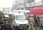 Incendiu la o fabrică din New Delhi: 43 de persoane au murit