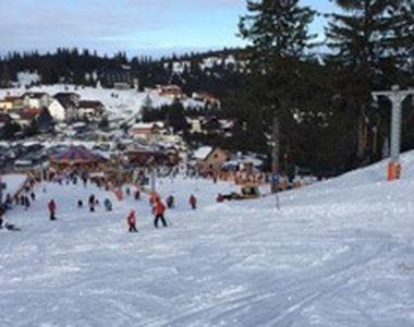 VIDEO | Zăpadă numai bună pentru pârtii. La Păltiniş, s-a dat startul distracţiei!