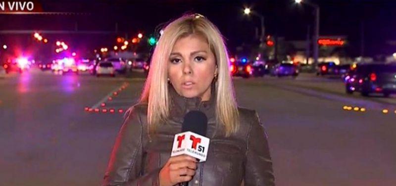 O renumită jurnalistă la un pas de moarte. A fost lovită de o mașină în timpul unei transmisiuni live