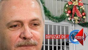 VIDEO | Liviu Dragnea face Sărbătorile după gratii. Singura sa declarație pentru presă