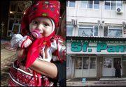"""Tragedie într-o familie din Focșani. O fetiță de cinci luni a murit din vina medicilor, susţin părinţii: """"Mi-au spus că are roşu în gât şi ne-a trimis acasă"""""""