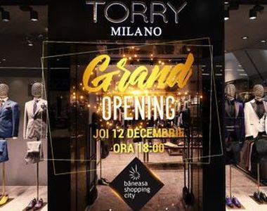 Magazinul Torry Milano se deschide și în Băneasa Mall