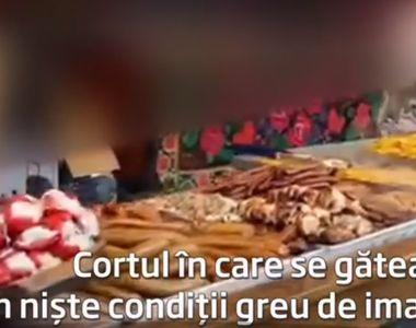 Dezastru fără margini la Târgul de Crăciun din Constanţa. Zeci de preparate gătite pe...