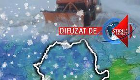 VIDEO | Fenomene meteo extreme în România. Unde va lovi viscolul. Veștile de la meteorologi nu sunt deloc bune