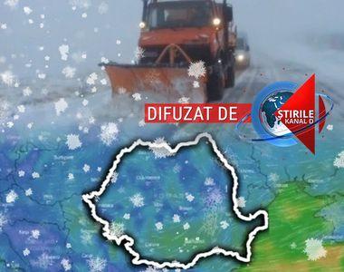 VIDEO | Fenomene meteo extreme în România. Unde va lovi viscolul. Veștile de la...