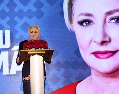 VIDEO | Cum a apărut Viorica Dăncilă la ședința Organizației femeilor social-democrate