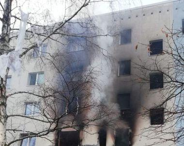 Un mort şi 25 de răniţi în estul Germaniei, în urma unei explozii care s-a produs...