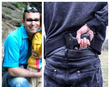 Bărbatul care s-a împuşcat într-un poligon a lăsat un mesaj de adio