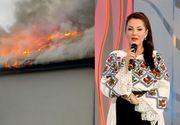 VIDEO | Angela Rusu, momente cumplite. Restaurantul său arde în flăcări