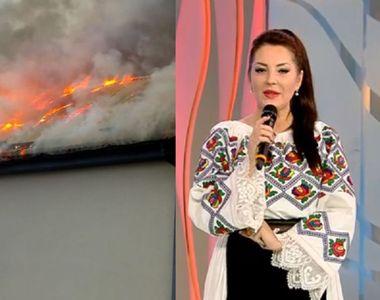 Angela Rusu, momente cumplite. Restaurantul său arde în flăcări