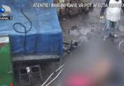 VIDEO   Abator clandestin, descoperit de polițiști în curtea unui bărbat din sectorul 2 al Capitalei