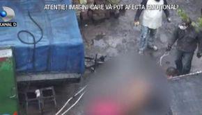 VIDEO | Abator clandestin, descoperit de polițiști în curtea unui bărbat din sectorul 2 al Capitalei