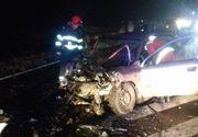Accident grav pe DN2, în judeţul Ialomiţa - patru persoane au fost rănite, iar autovehiculele implicate au fost complet distruse - FOTO