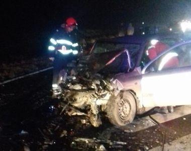 Accident grav pe DN2, în judeţul Ialomiţa - patru persoane au fost rănite, iar...