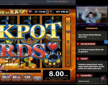 Cel mai mare câștig la cazino online din România surprins live s-a consemnat la NetBet