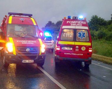 Teleorman: o persoană decedată și alte 9 rănite după ce microbuzul în care se aflau s-a...