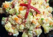 Salata boeuf. Adevărul despre cel mai iubit preparat de sărbători. Cât de sănătoasă este? Nutriționistul are răspunsul
