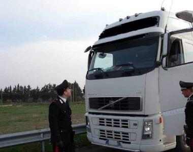 Amendă record pentru un șofer român de TIR în Franța