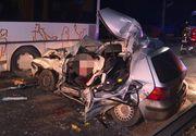 Un poliţist de 22 de ani a murit în Bistriţa, maşina lui a fost de nerecunoscut