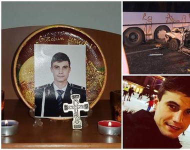 El este Cristian, polițistul mort în accidentul din Bistrița