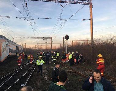 CFR Călători: Accidentul din judeţul Prahova s-a produs după ce un tren de marfă al...