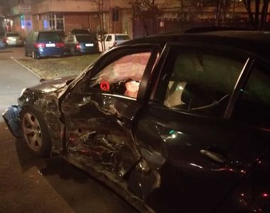 Accident de proporții provocat de un tânăr de 18 ani. A pierdut controlul volanului și...