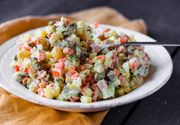 Salata de boeuf. Rețetă clasică pentru Crăciun