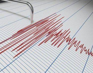 Cutremur cu magnitudinea 3,7, în zona sesimică Vrancea