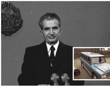 ANAF a vândut mașina lui Nicolae Ceaușescu. Celebrul ARO a fost dat la licitație
