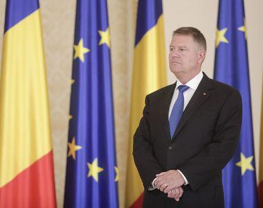 Preşedintele Klaus Iohannis, reales pentru un nou mandat de cinci ani, depune...