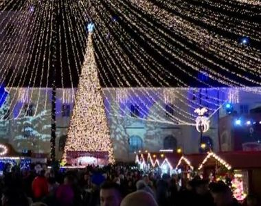 VIDEO | Târgul de Crăciun de la Sibiu, lăudat de New York Times