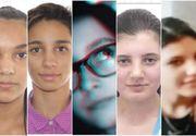 Cele cinci fete din Dâmbovița care au dispărut în urmă cu patru zile au fost găsite de polițiști