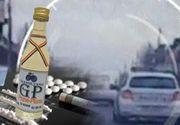 VIDEO | Un șofer băut,  drogat și fără permis s-a luat la întrecere cu polițiștii. Totul a fost filmat